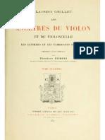 Les Ancêtres Du Violon Et Du Violoncelle Le Violon Et Ses Dérivés (1)