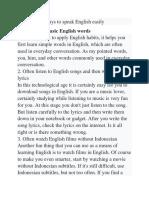 14 Fast ways to speak English easily.docx