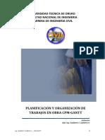 Curso Planificación y Organización de Obras Civiles