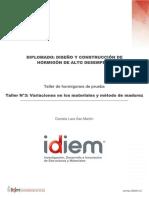 Informe Taller Madurez Hormigón