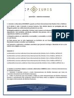 CP Iuris - DIREITOS HUMANOS - Questoes Comentadas