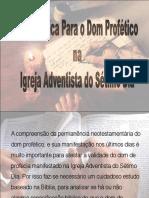 Base Bíblica para o Dom de Profecia em Ellen White