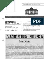 El Futurismo   Hoja MAC