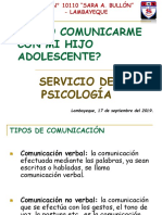 COMO COMUNICARME CON MI HIJO ADOLESCENTE.ppt