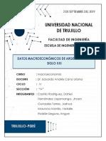 MACROECOMOMIA ARGENTIA
