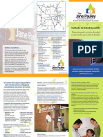 Jane Pauly Community Health Care Brochure 2014(Spanish )