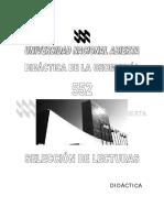 Didactica de La Geometria (552) Libro Universidad Nacional Abierta Venezuela