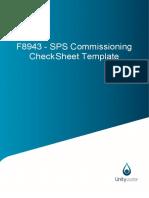 checklist comissioning