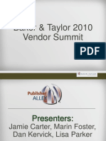 2010 Vendor Summit