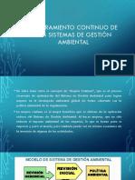 Mejoramiento Continuo de Los Sistemas de Gestión Ambiental
