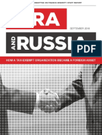 The NRA Russia - How a Tax-Exempt Organization Became a Foreign Asset