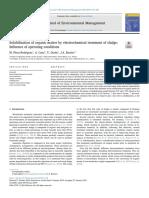 Solubilización de Materia Orgánica Por Tratamiento Electroquímico de Lodos Influencia de Las Condiciones de Operac