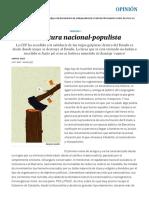 Nacional populismo