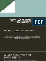 travelandtourismmanagementpresentation-170104104825
