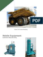 Oil Filtration in Mining