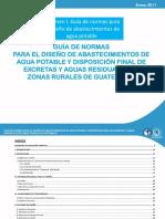 Normas Agua Potable Rural Revisadas
