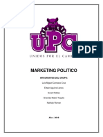 Trabajo Final Marketing Politico