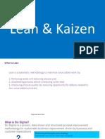 Lean & Kaizen