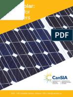 SOLAR - Guide for Going Solar