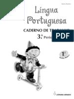 Fio de Prumo - Caderno de Trabalho - 3.º Período