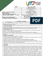 II0F3 Control Total de La Calidad 2019