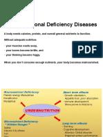 Major Nutritional Deficiency Diseases