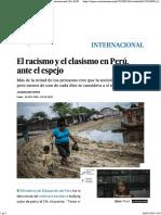 Racismo y clasismo en el Perú
