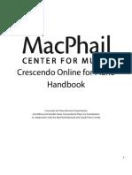 Crescendo Online Piano Policies and Syllabus