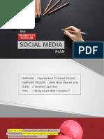 Social Media Campaign Deck