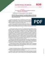 DECRETO FORAL de la Diputación Foral de Bizkaia 20/2019, de 12 de marzo, por el que se establecen las bases y convocatoria reguladoras de la concesión de subvenciones para el desarrollo de proyectos de innovación sociolaboral, del ejercicio 2019.