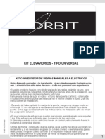 Orbit Kit de Conversion Manual Elevavidrios