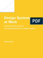 Design Systems at Work Optimizing design processes and aligning design work to company identity