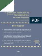 Español con Fines Específicos EFE