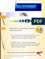 Indian Business Environment'