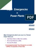 15. Major Emergencies in Power Plant