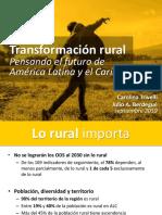 Transformación rural Pensando el futuro de  América Latina y el Caribe