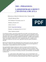 50 DICAS PARA ADMINISTRAR O DEFICT DE ATENÇÃO EM SALA DE AULA.doc