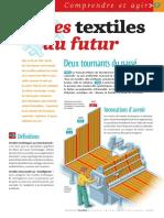 Infographie Carrefour - Les Textiles Du Futur