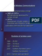 PPts for wireless communication-cellular