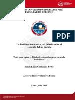 Carracedo Uribe Sarah Fertilizacion