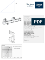 GROHE Specification Sheet 34558000