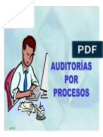 auditoria por procesos.