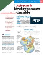 Infographie Carrefour - Agir Pour Le Développement Durable