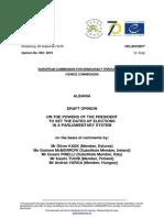 Raporti i Komisionit të Venecias për Presidentin Ilir Meta (ANGLISHT) - Newsbomb.al