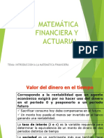 1_ Matemática Financiera y Actuarial