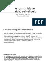 ABS Sistemas Asistida de Seguridad Del Vehículo