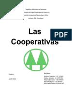 Las Cooperativas en Venezuela