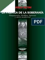 Altini - La Fabrica de La Soberania_ Maquiavelo, Hobbes, Spinoza y Otros Modernos