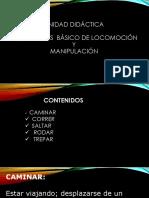 Unidad Didáctica de Patrones Basico de Locomocion