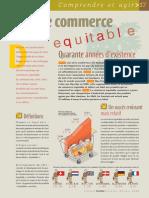 Infographie Carrefour - Le Commerce Équitable - Mai 2004